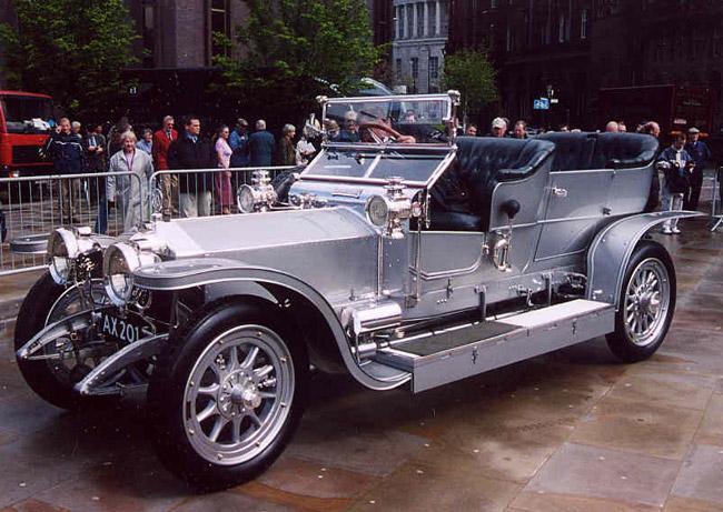 Автомобиль Rolls-Royce Silver Ghost