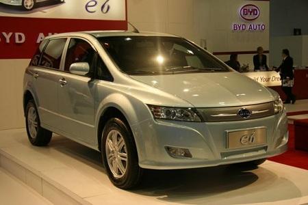 Электромобиль BYD e 6