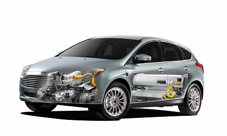 Электромобиль Ford Focus