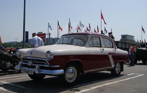 ГАЗ-21 — Волга первой серии