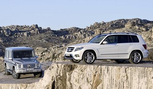 Кроссовер и внедорожник Mercedes