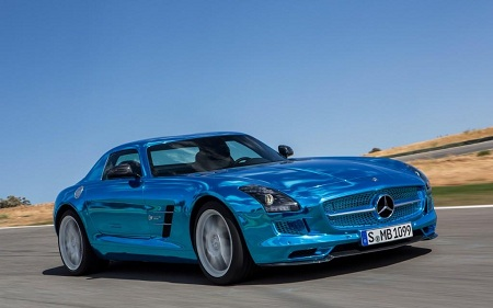 Электромобиль Mercedes Benz