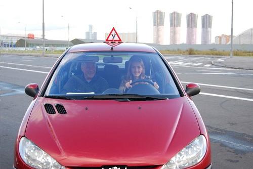 Учебный автомобиль в России