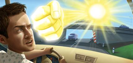 Зачем нужны очки за рулем
