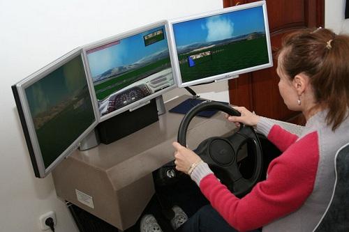 Автотренажер для обучения вождению