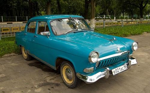 ГАЗ-21 — Волга второй серии