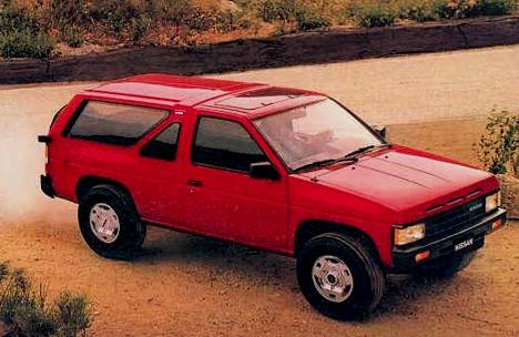 Nissan Pathfinder 1986 года выпуска