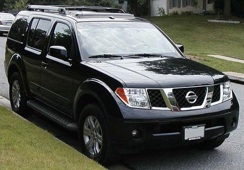 Nissan Pathfinder 2004 года выпуска