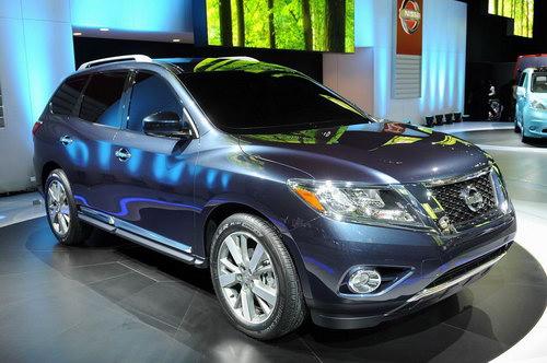 В 2012 году в Детройте был представлен обновленный Nissan Pathfinder
