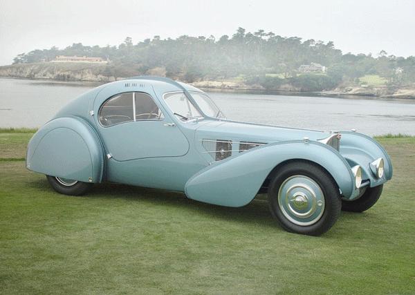 Bugatti Type-57SC Atlantic выпуска 1936 г.