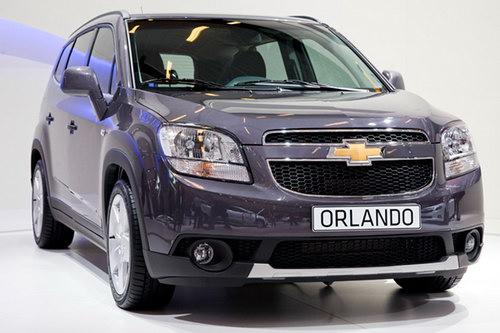 Chevrolet Orlando одновременно брутален и утончённо элегантен