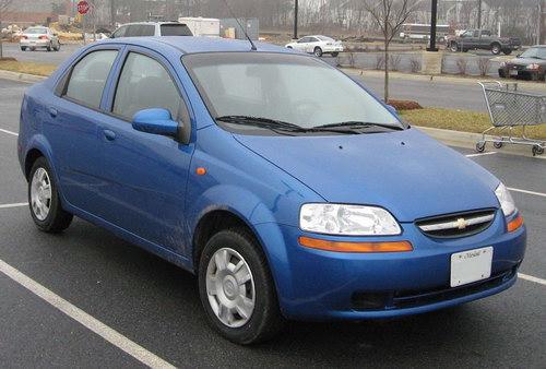 Chevrolet Aveo T200 Седан