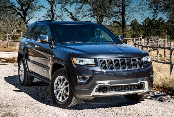 Внешний вид Jeep Grand Cherokee 2014
