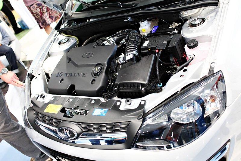 Двигатель Лады Калины второго поколения