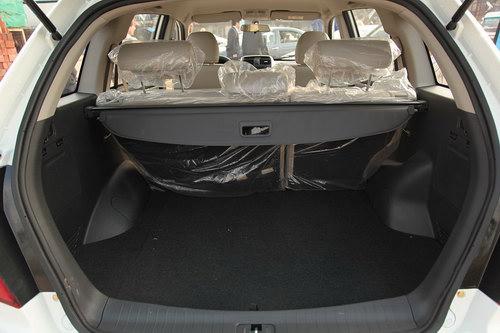 Lifan x60 имеет вместительный багажник