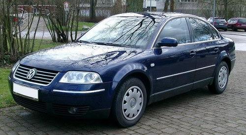 Volkswagen Passat B5 образца 1996 года