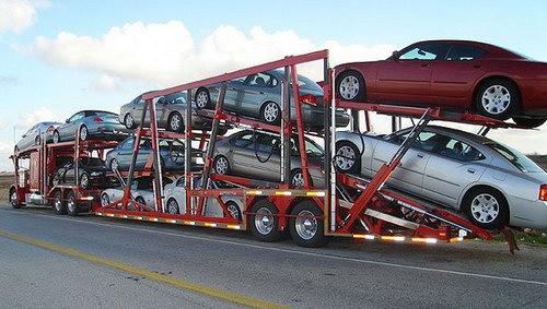 Вывоз автомобиля из Германии