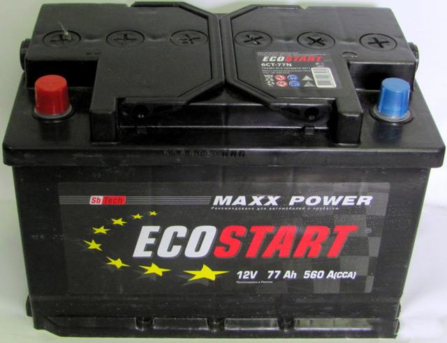 EcoStart - один из аккумулятор с сомнительным качеством