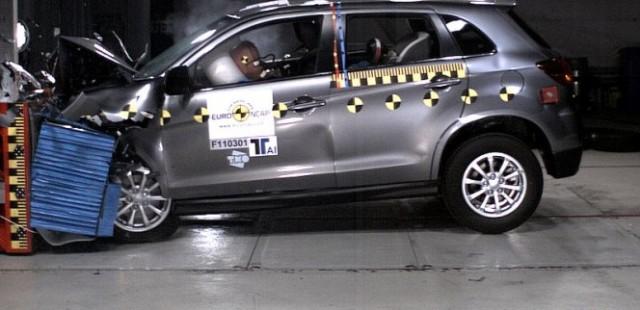 С Mitsubishi ASX можете быть уверены в своей безопасности