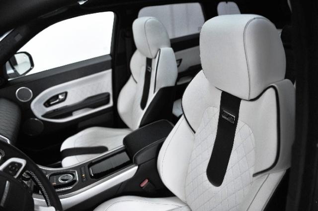 Система безопасности внедорожника Land Rover Evoque — одна из лучших