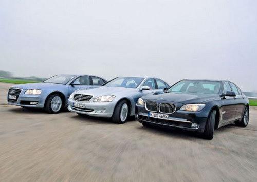Audi, Mercedes и BMW — самые известные немецкие марки