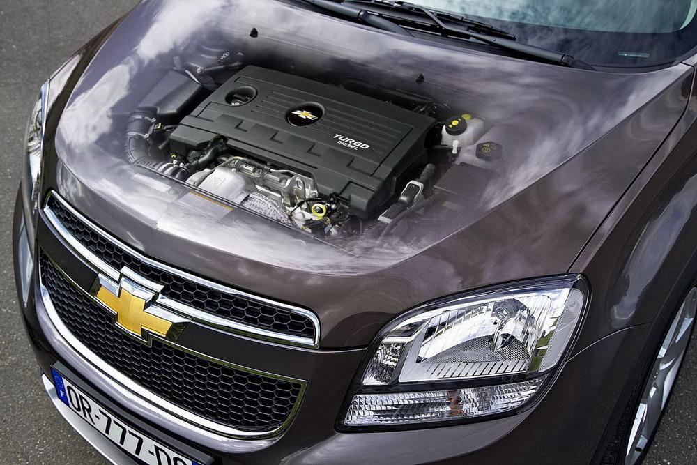А что у Chevrolet Orlando под капотом?