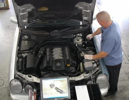 Диагностика двигателя при покупке автомобиля