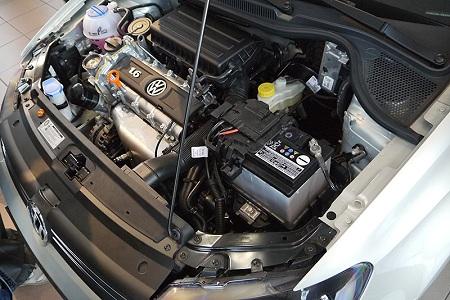 Двигатель автомобиля Volkswagen Polo