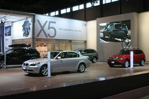 Салон BMW в Германии