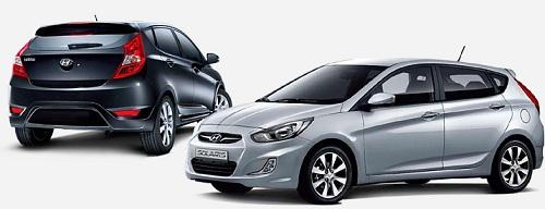 Hyundai Solaris в кузове хэтчбек