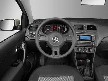 Интерьер автомобиля Volkswagen Polo