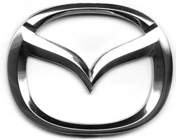 Эмблема Mazda