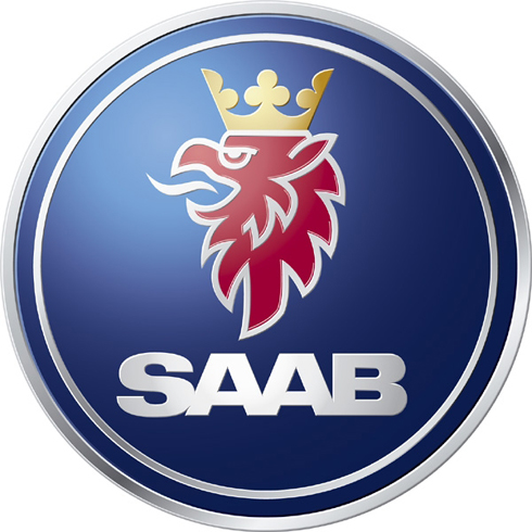 Эмблема Saab