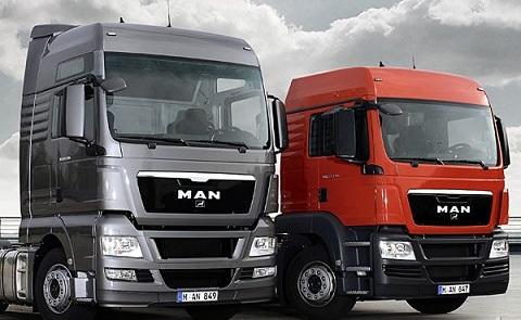 Немецкие грузовики MAN