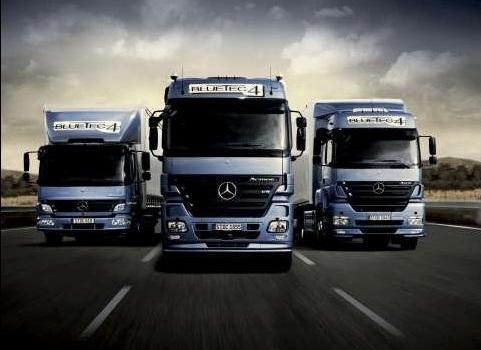 Немецкие грузовики Мерседес