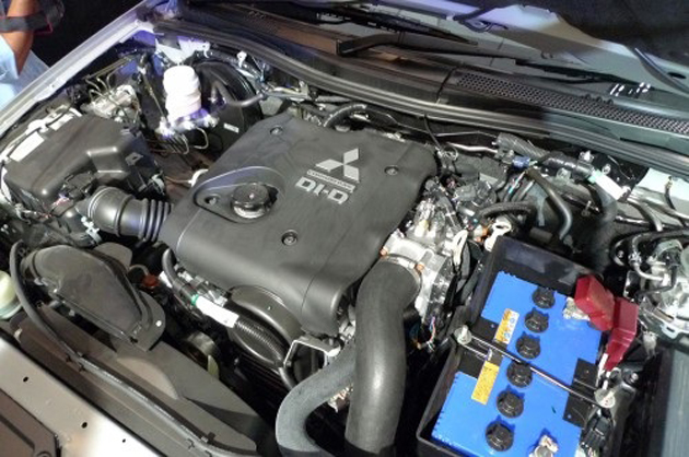 Двигатель Mitsubishi Pajero Sport
