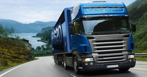 Перегон грузового автомобиля