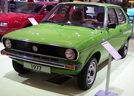 Volkswagen Polo первое поколение (1975–1981)