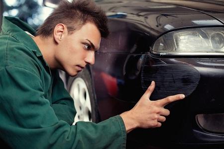 Прием автомобиля из ремонта