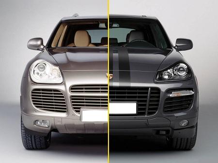 Porsche Cayenne до и после рестайлинга