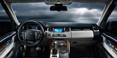 Салон Range Rover Sport
