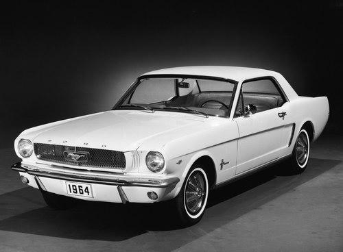 Первый Форд Мустанг 1964S