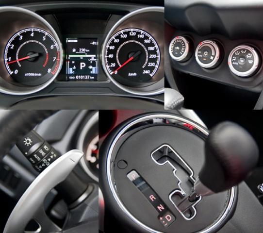 Mitsubishi ASX с красивой панелью и хорошими техническими характеристиками