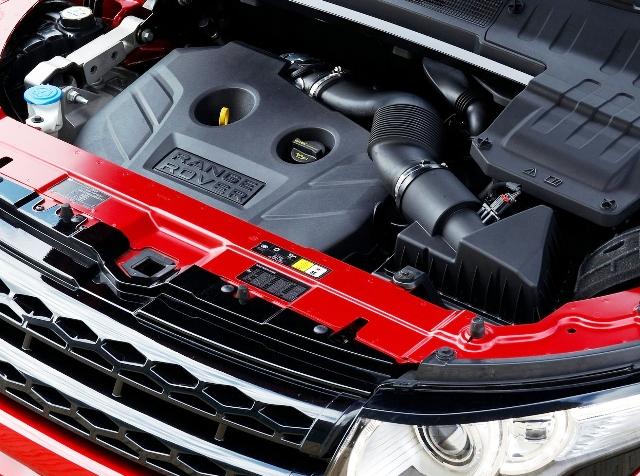 Range Rover Evoque — это много «лошадок» под капотом