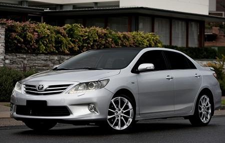 Toyota Corolla 2013 года выпуска