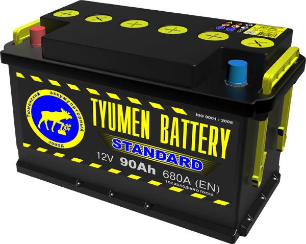 АккумуляторTyumen Battery Standart