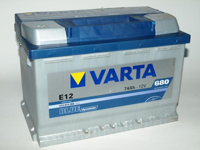 АккумуляторVarta Blue Dynamic