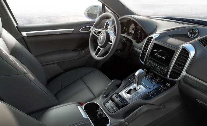 Porsche Cayenne: интерьер