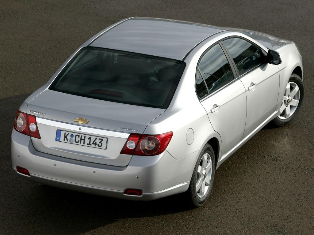 Chevrolet Epica: вид сверху