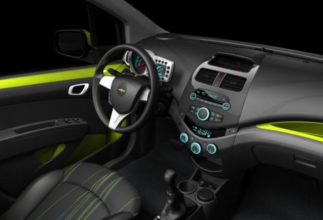 Интерьер автомобиля Chevrolet Spark